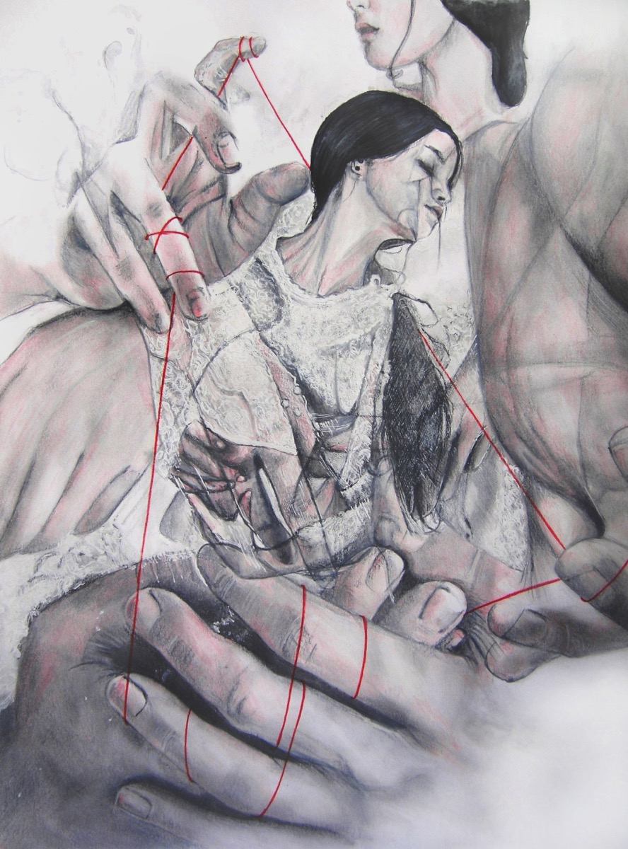 "Gaia Altari, ""Loose ropes, still tied knots"""