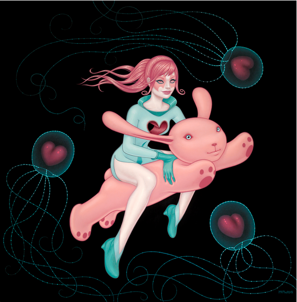 """""""The Love Space Gives Is as Deep as the Oceans"""" by Tara McPherson"""