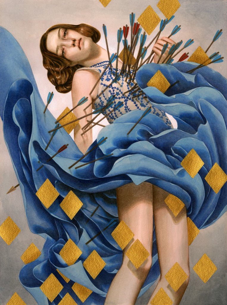 """A Distressed Damsel"" by Tran Nguyen"