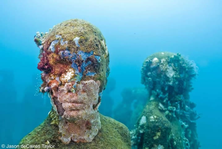 """Vicissitudes"" by Jason deCaires Taylor"