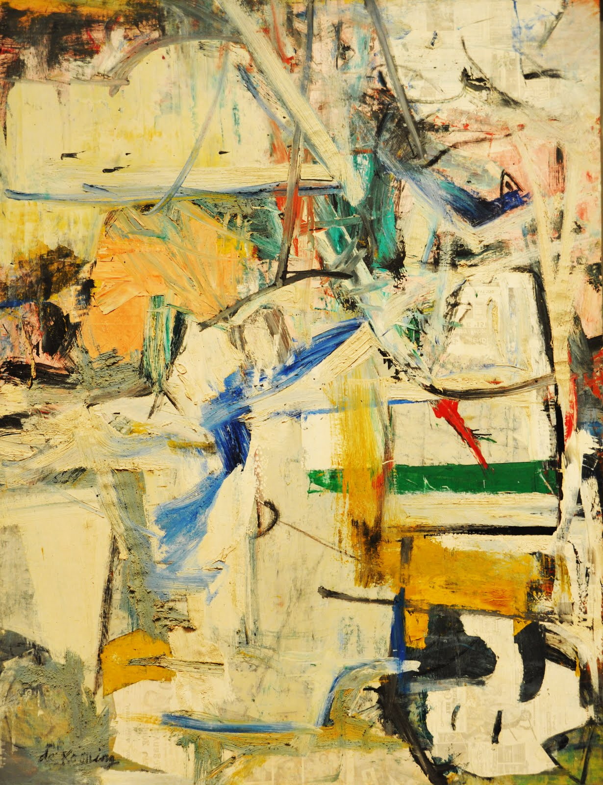 """Easter Monday"" by Willem de Kooning"