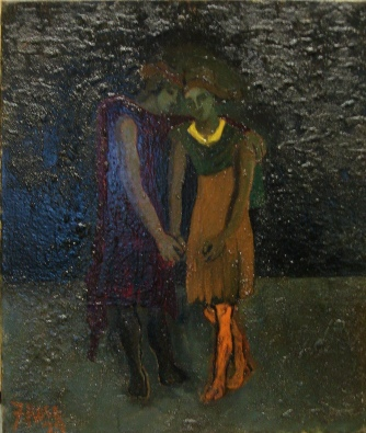 """""""Two Figures"""" by Francis Rose"""