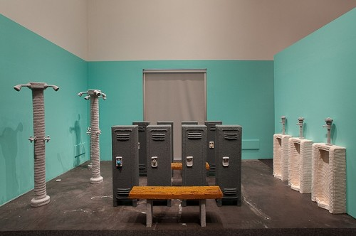 """Locker Room"" by NATHAN VINCENT 